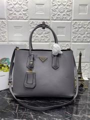 1:1 original leather Prada tote shoulder bag 1BG2775 00514 top quality