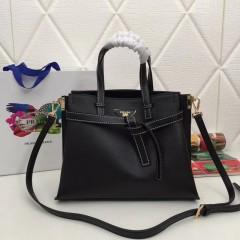 1:1 original leather Prada tote shoulder bag sale 98802 00503 top quality