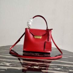 1:1 original leather Prada tote shoulder bag outlet 1BN012 00501 top quality