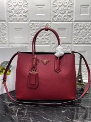 1:1 original leather Prada tote shoulder bag 1BG2775 00512 top quality