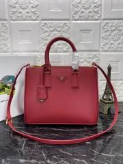 1:1 original saffiano leather Prada tote shoulder bag 1BA274 00507 top quality