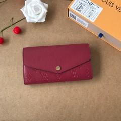 1:1 Louis Vuitton real leather wallet monogram empreinte M61182 00571 top quality
