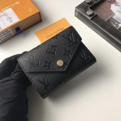 1:1 Louis Vuitton real leather wallet monogram empreinte M41938 00576 top quality