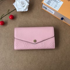 1:1 Louis Vuitton real leather wallet monogram empreinte M61182 00569 top quality