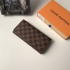 1:1 real leather Louis Vuitton wallet outlet M58101 00577 top quality