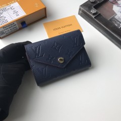 1:1 Louis Vuitton real leather wallet monogram empreinte M41938 00573 top quality