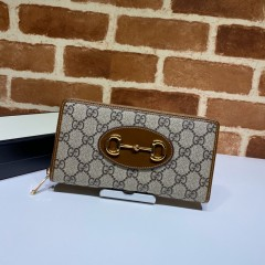 1:1 original leather Gucci wallet sale #621889 00593 top quality