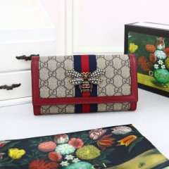1:1 original leather Gucci wallet sale #476064 00592 top quality