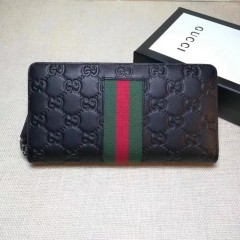 1:1 original leather Gucci wallet sale #408831 00595 top quality