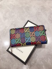 1:1 original leather Gucci wallet sale #601079 00590 top quality