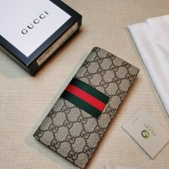 1:1 original leather Gucci wallet sale #408836 00599 top quality