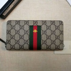 1:1 original leather Gucci wallet sale #408831 00596 top quality