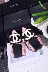 1:1 original leather Chanel women dance shoes for sale 00702 top quality