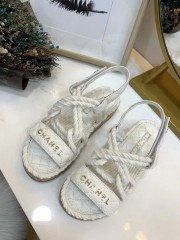1:1 original leather Chanel women sandal for sale 00714 top quality