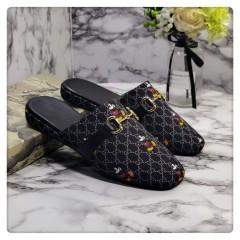 1:1 original cowhide/sheepskin Gucci men and women casual flat shoes 00740 top quality