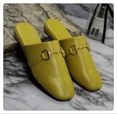 1:1 original cowhide/sheepskin Gucci men and women casual flat shoes 00738 top quality