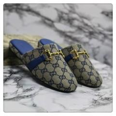 1:1 original cowhide/sheepskin Gucci men and women casual flat shoes 00741 top quality