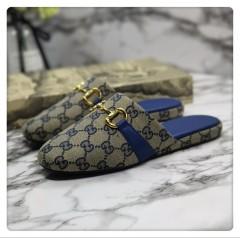 1:1 original cowhide/sheepskin Gucci men and women casual flat shoes 00744 top quality
