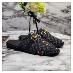 1:1 original cowhide/sheepskin Gucci men and women casual flat shoes 00743 top quality