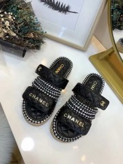 1:1 original leather Chanel women sandal for sale 00717 top quality