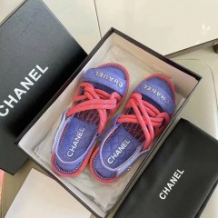1:1 original leather Chanel women sandal for sale 00710 top quality