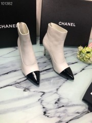 1:1 original leather Chanel women boot for sale 00708 top quality