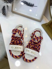 1:1 original leather Chanel women sandal for sale 00712 top quality