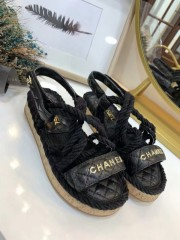 1:1 original leather Chanel women sandal for sale 00713 top quality