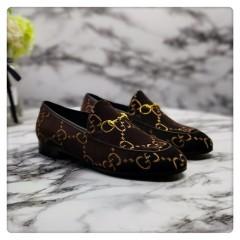 1:1 original cowhide/sheepskin Gucci women sandal heel 7cm 00735 top quality