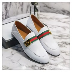 1:1 original cowhide/sheepskin Gucci women sandal heel 7cm 00734 top quality