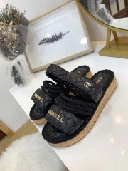 1:1 original leather Chanel women sandal for sale 00715 top quality