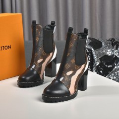 1:1 original leather Louis Vuitton women boot for sale 00789 top quality