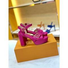 1:1 original leather Louis Vuitton women sandal for sale 00779 top quality