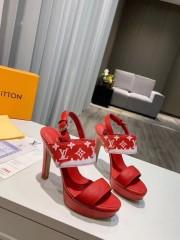 1:1 original leather Louis Vuitton women sandal for sale 00772 top quality