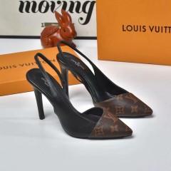 1:1 original leather Louis Vuitton women shoes for sale heel 10cm 00785 top quality