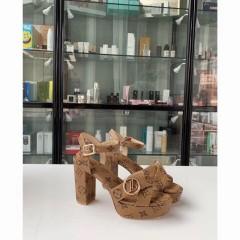 1:1 original leather Louis Vuitton women sandal for sale 00776 top quality