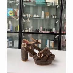 1:1 original leather Louis Vuitton women sandal for sale 00775 top quality
