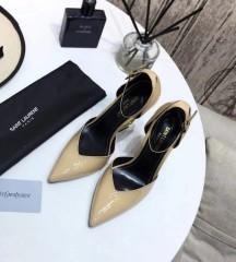 1:1 original leather Saint Laurent shoes YSL sandal outlet 00835 top quality