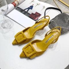 1:1 original leather Manolo Blahnik women shoes for sale 00816 top quality