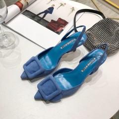 1:1 original leather Manolo Blahnik women shoes for sale 00814 top quality