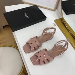 1:1 original leather Saint Laurent shoes YSL sandal outlet 00825 top quality