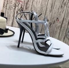 1:1 original leather Saint Laurent shoes YSL sandal outlet 00831 top quality