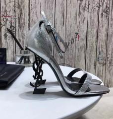 1:1 original leather Saint Laurent shoes YSL sandal outlet 00827 top quality