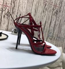 1:1 original leather Manolo Blahnik women sandal Swarovski diamond 00806 top quality