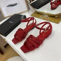 1:1 original leather Saint Laurent shoes YSL sandal outlet 00823 top quality
