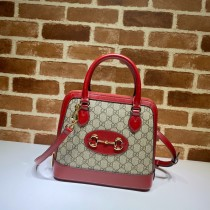 1:1 original leather with pvc Gucci tote bag for sale #621220 00851 top quality