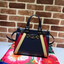 1:1 original leather Gucci tote bag with strap for sale #569712 00864 top quality