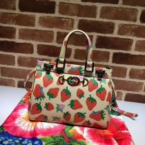1:1 original leather Gucci tote bag with strap for sale #569712 00866 top quality