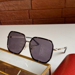 1:1 original leather Cartier Sunglasses for women CA0821 00919 top quality