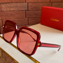 1:1 original leather Cartier Sunglasses for sale CT0196S 00912 top quality